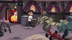 S3E22 Marco Diaz running up to Nachos