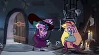 S4E1 Meteora lands in Eclipsa's arms