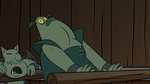 S2E20 Buff Frog swallows the keys and pants