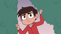 S3E19 Marco Diaz entering Kelly's hair