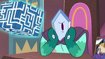 S3E29 Rhombulus looks away from the Box in shame
