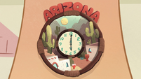 S2E11 Arizona clock strikes six o'clock