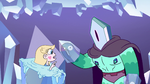 S2E34 Star Butterfly points at Rhombulus's hands