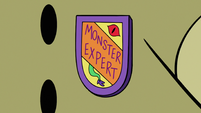 S3E17 Dr. Jelly Goodwell's monster expert badge