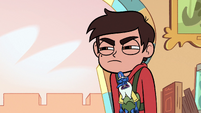 S3E31 Marco looking annoyed at Tom