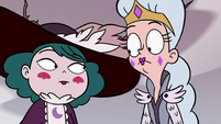 S3E36 Moon and Eclipsa look at each other