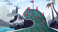 Royal Pain background - Echo Creek mini-golf 2