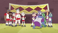 S4E16 Mewman and monster teams are picked