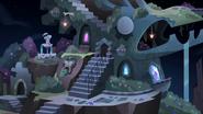 S4E1 Queen Eclipsa's new castle at night