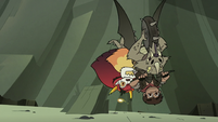 S3E22 Adult Marco and Hekapoo flipping on Nachos
