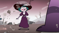 S3E36 Eclipsa looking nervous at Meteora