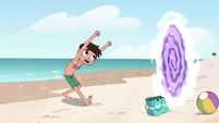S4E27 Marco notices Star leave through portal