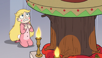 S3E25 Star Butterfly begging the Stump's forgiveness
