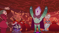 S3E29 Rhombulus wants out of the giant cage