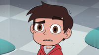 S4E26 Marco Diaz listening to his lookalike