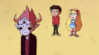 S4E29 Star and Marco look at pillar of fire