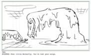 Toffee storyboard 2 by Sabrina Cotugno