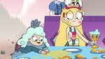 S2E15 Butterfly baby sitting next to Star