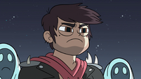S4E5 Marco looking dramatic and manly