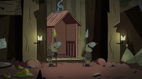 S2E20 Monster guards sleeping by the elevator