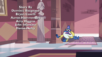 S3E31 Glossaryck running through the castle