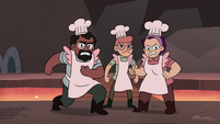 S4E2 Pie Folk blocking Star and Marco's path