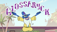 S1E11 Glossaryk introducing himself