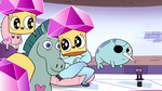S2E22 Cupcake spell 'Star's getting ready for bed'