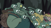 S3E31 Buff Frog's tadpoles tackle Star Butterfly