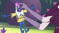 S3E11 Eclipsa scratching Glossaryck's forehead gem