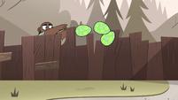 S4E8 Merrick tosses three more lizard eggs