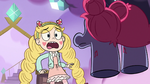S3E21 Star Butterfly scared of Shonda and Shinda
