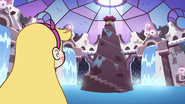S3E9 Star Butterfly looking at the well of magic