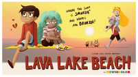 Lava Lake Beach poster