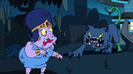 S1E14 Princess Smooshy sees the blue lion