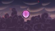 S3E19 Black sphere opens to reveal giant eyeball