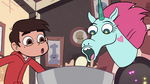 S2E24 Pony Head tossing eggs in a mixing bowl