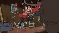 S2E28 Marco Diaz punching the monsters