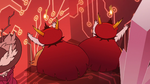 S3E29 Hekapoo and her duplicates push against wall