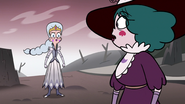 S3E36 Queen Moon confronting Meteora