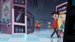 S1E8 Star and Marco pass by Ludo