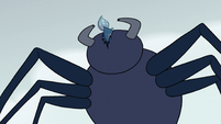 S2E2 Giant spider eating Ludo's fish