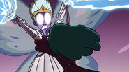 S3E36 Eclipsa stops Moon from attacking Meteora