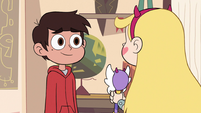 S3E14 Marco Diaz smiling at Star Butterfly