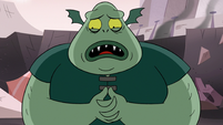 S3E7 Buff Frog 'I think the queen needs help'