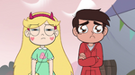 S4E1 Star annoyed and Marco sad