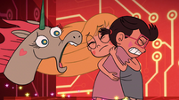 S2E17 Pony Head crying out to Marco Diaz