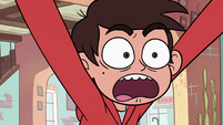 S2E18 Marco Diaz shrieking 'get out of town!'