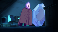 S2E34 Rhombulus stands before frozen Star