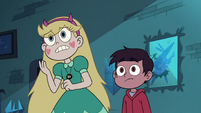 S3E18 Star Butterfly looking very shocked